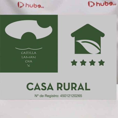 placa-casas-rurales-castilla-la-mancha